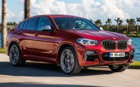 BMW показала кроссовер X4 нового поколения