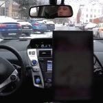 Беспилотный автомобиль протестировали на заснеженных улицах