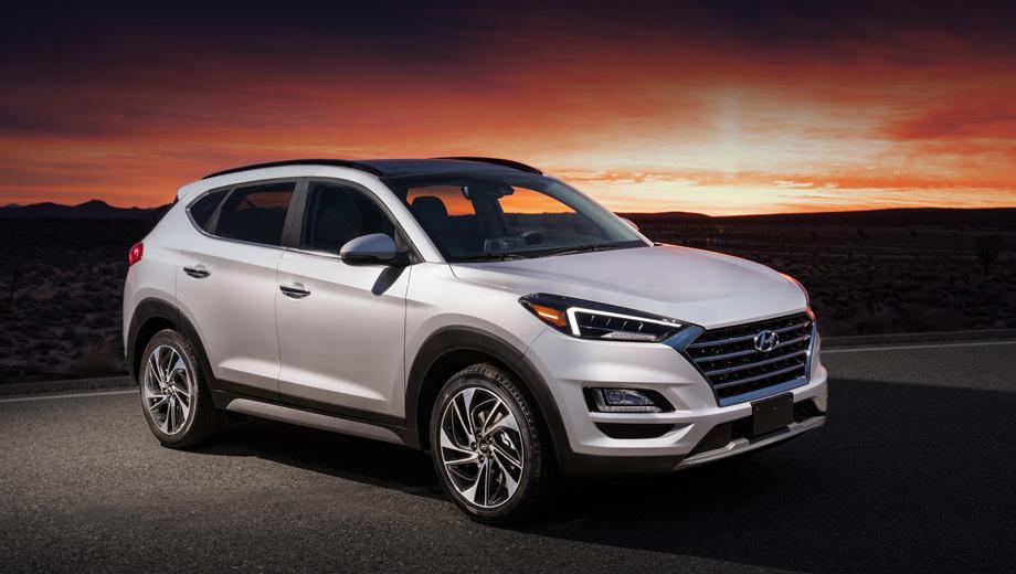 Кроссовер Hyundai Tucson получил новый интерьер