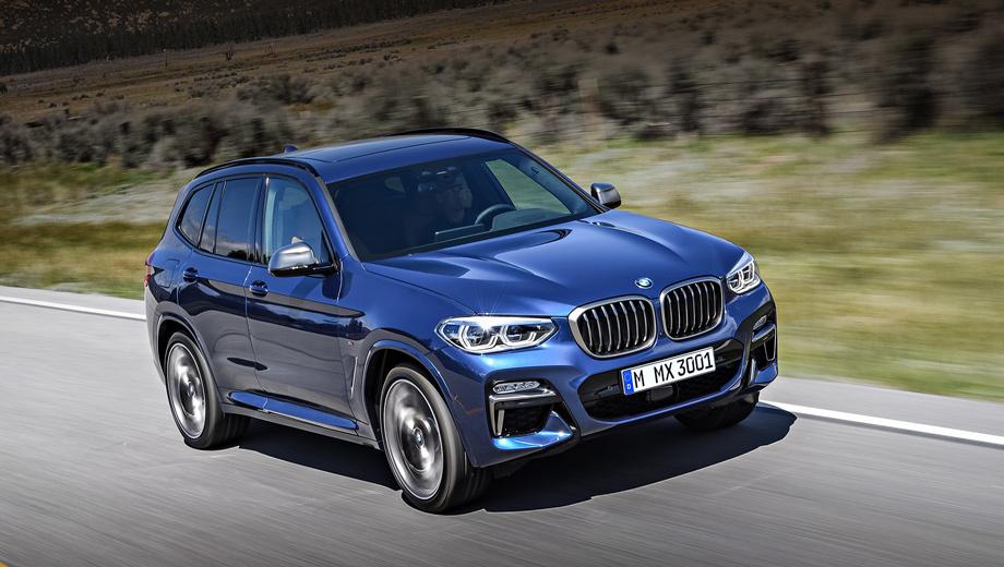Паркетники BMW X3 отозваны из-за заднего спойлера