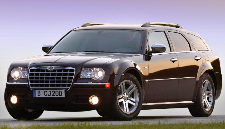 Белорусская милиция продаёт мощный Chrysler из кортежа Лукашенко