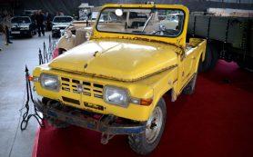 Уникальный внедорожник «Москвич-415С» впервые показали широкой публике