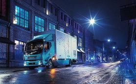 Volvo показала свой первый электрический грузовик FLElectric