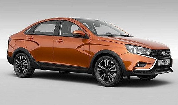 «АвтоВАЗ» начал производство седана Lada Vesta Cross вИжевске