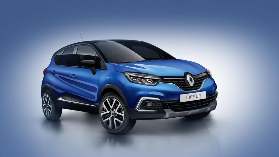 Паркетник Renault Captur S-Edition получил мощный двигатель