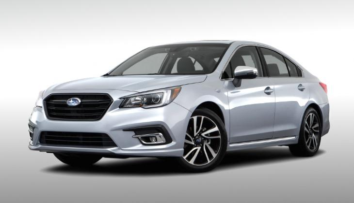Вернувшийся в Россию седан Subaru Legacу оценили в два миллиона рублей