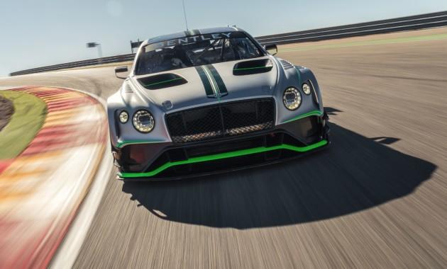 Bentley готовится к дебюту гоночного купе Continental GT3 второго поколения