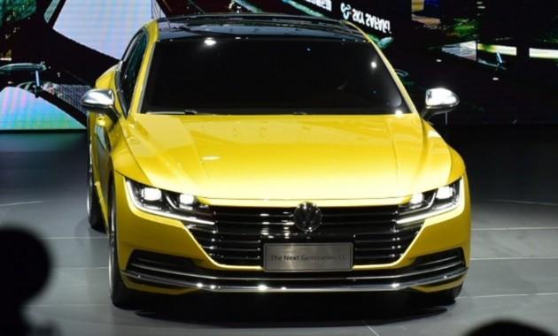 Volkswagen Arteon в Китае представлен как CC