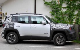 Jeep Renegade показал обновленный кузов