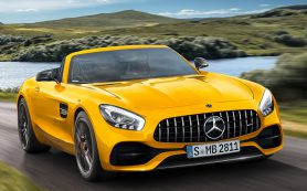 Mercedes-Benz представил родстер AMG GT S