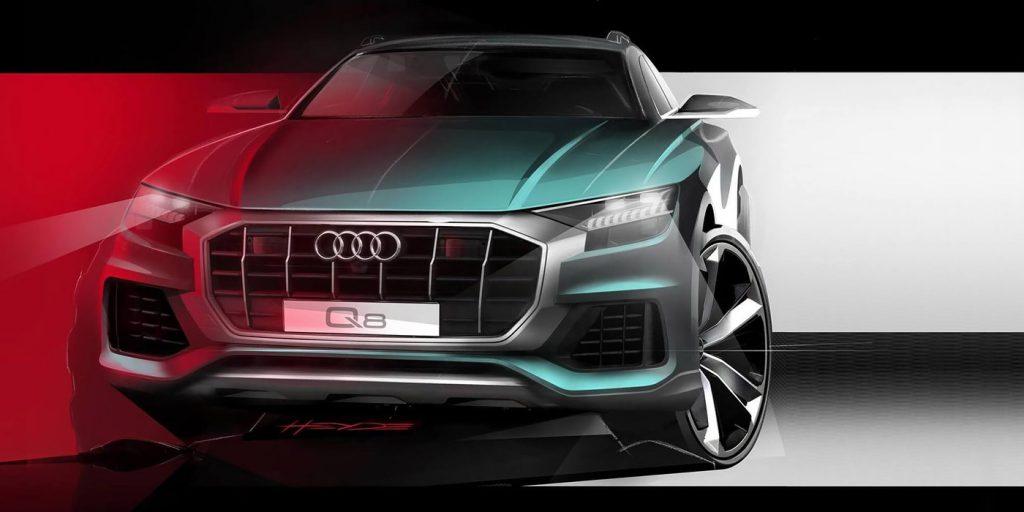 Audi показала внешность нового флагманского кроссовера