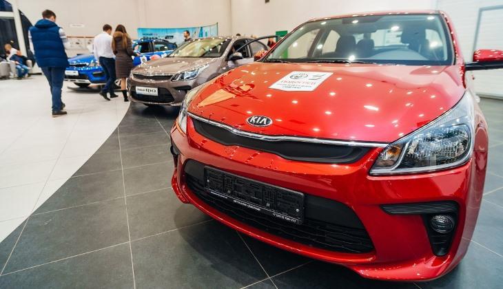 Продажи новых автомобилей в России выросли на 18% по итогам апреля