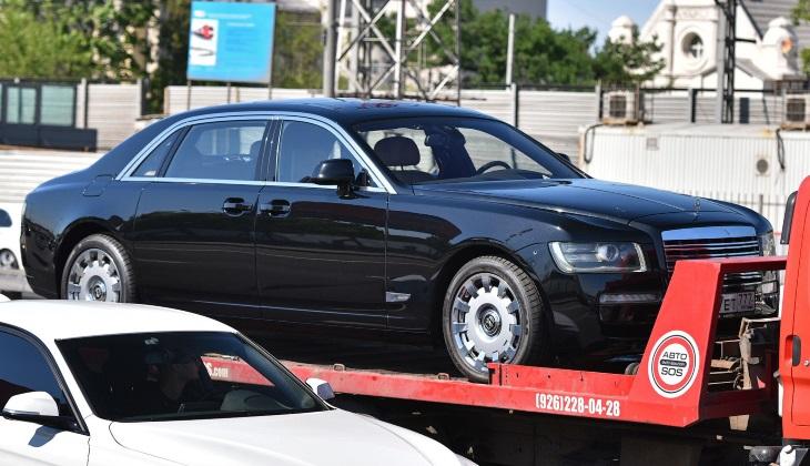 Как Rolls-Royce превратился в ЗИЛ: в Москве заметили странный автомобиль