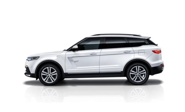 Кроссовер Zotye с дизайном «под Range Rover»