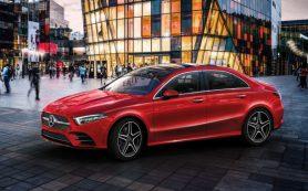 Mercedes-Benz «засветил» европейскую версию седана A-Class нового поколения
