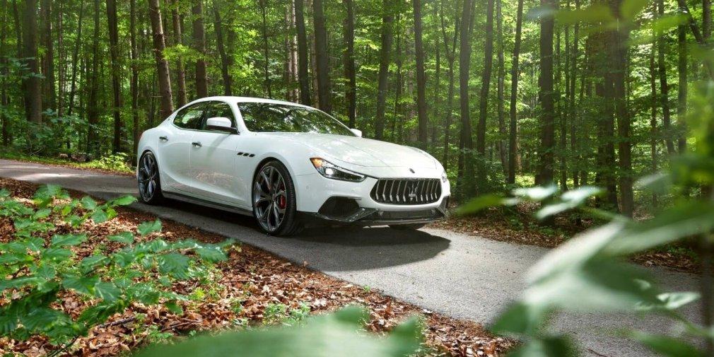Тюнеры сделали седан Maserati Ghibli мощнее и быстрее