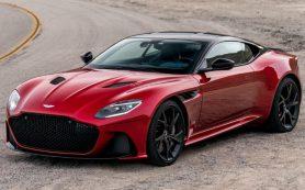 Компания Aston Martin представила новое суперкупе