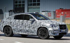 Кроссовер Mercedes GLE Coupe выйдет позже модели GLE