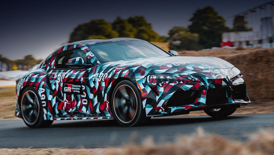Купе Toyota Supra впервые станет четырёхцилиндровым