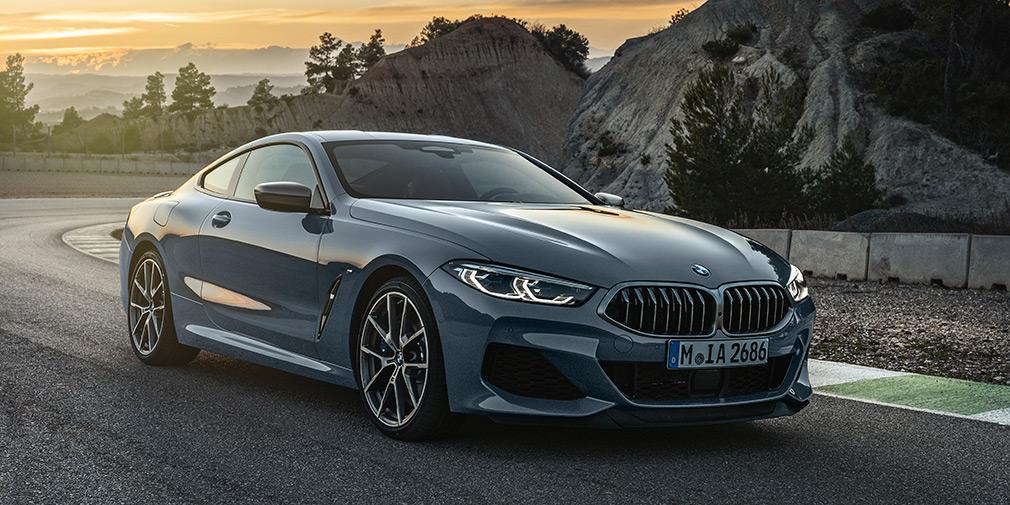 BMW объявила российские цены на купе 8-Series