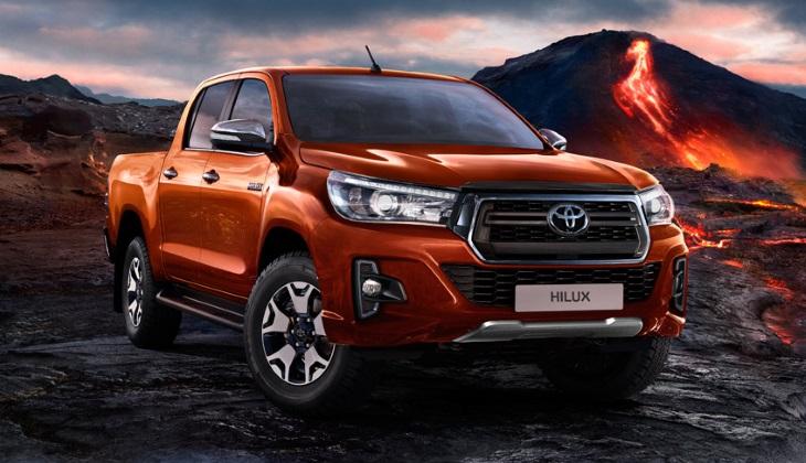 Toyota привезла в Россию «эксклюзивную» версию пикапа Hilux