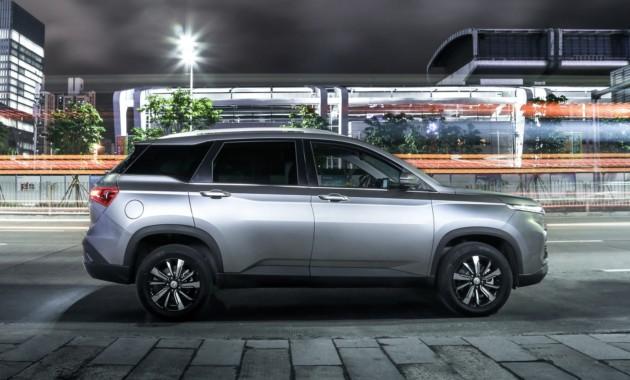Бюджетная марка GM и SAIC расширит кросс-линейку. Первые фото нового SUV