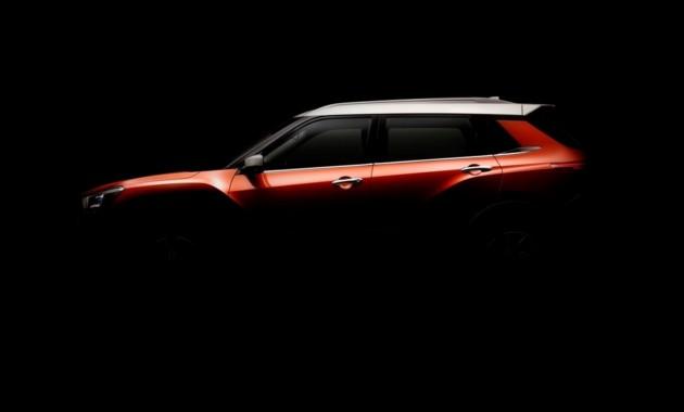 В стиле Kicks: новое фото совместного паркетника Nissan и Dongfeng