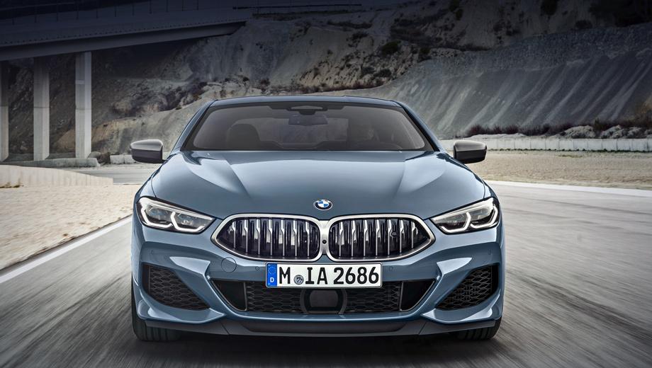 Седан BMW Gran Coupe восьмой серии не удивит внешностью