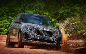 Модель BMW X7 окажется заметно крупнее «икс-пятого»
