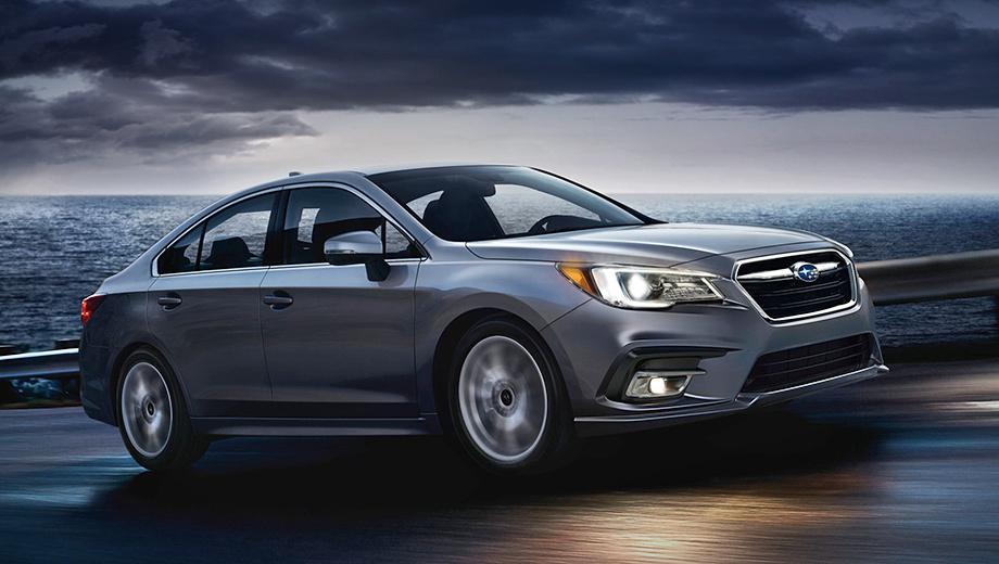 Седан Subaru Legacy лишится оппозитной «шестёрки»