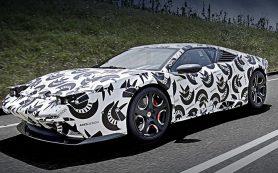 Купе Ares Panther вышло на дорожные испытания