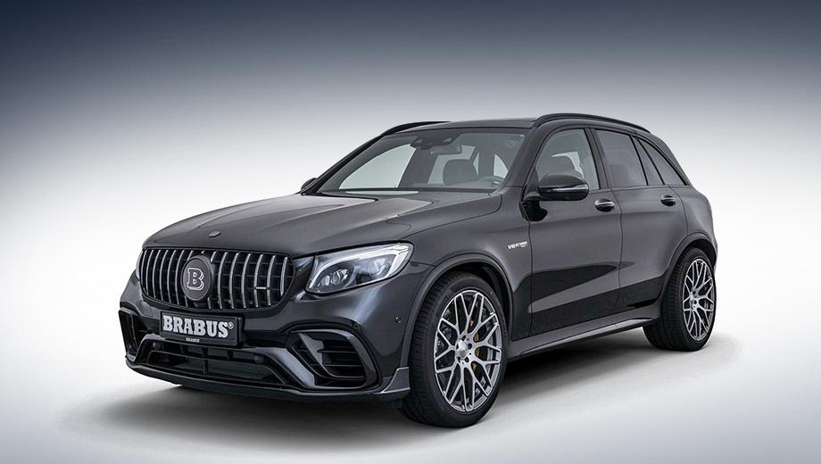 Ателье Brabus приободрило Mercedes-AMG GLC 63 S