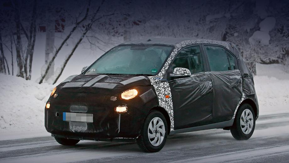 Марка Hyundai испытала в Европе субкомпакт для Индии