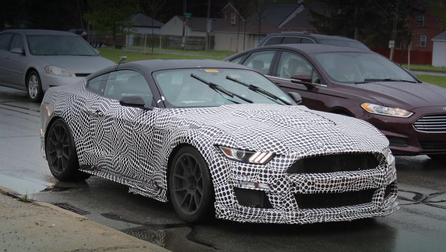 Новый Mustang Shelby GT500 не удивит мощностью