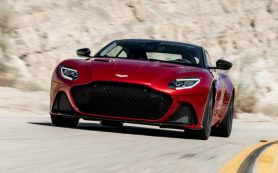 Aston Martin создаст экстремальную версию суперкара DBS Superleggera