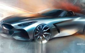 BMW анонсировала премьеру нового родстера Z4