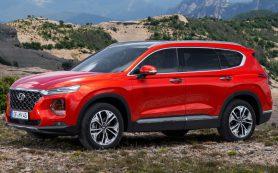 В России стартовали продажи нового кроссовера Hyundai Santa Fe