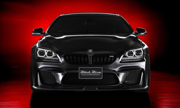 BMW 6 Series Gran Coupe получила костюм «Черного бизона»