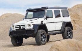Ателье Fab Design «пошило костюм» для Mercedes-Benz G500 4×4²