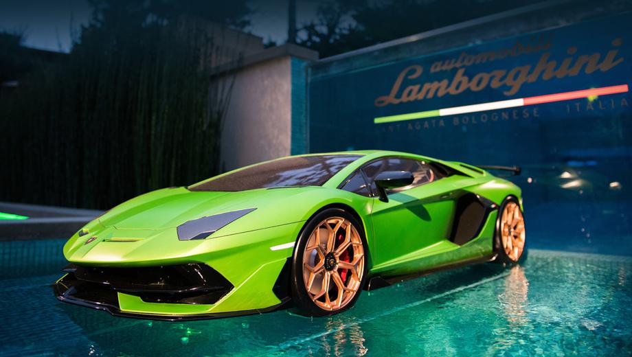 Подтверждён выпуск родстера Lamborghini Aventador SVJ