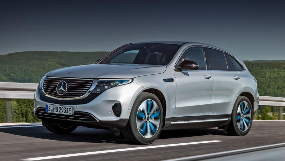 Электрокар Mercedes-Benz EQC появится в России в неназванный срок