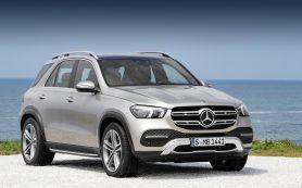 Кроссовер Mercedes-Benz GLE радикально обновил начинку