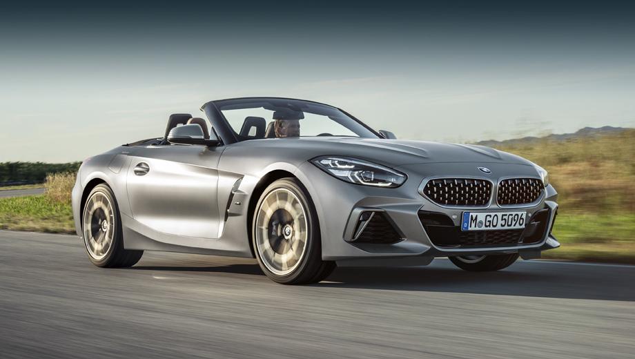 Родстер BMW Z4 появится в России весной