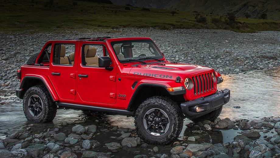 Инсайдеры рассказали о новых моторах модели Jeep Wrangler