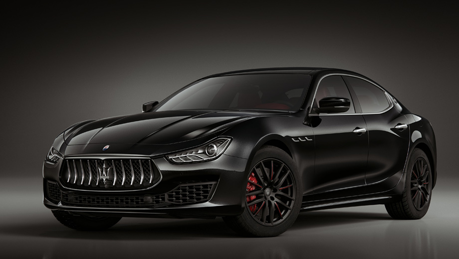 Седан Maserati Ghibli напомнил о себе версией Ribelle