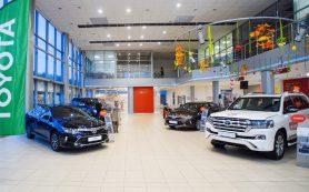 Увеличены цены на все модели марки Toyota в России