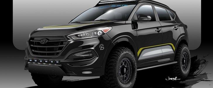 Hyundai сделала для китайцев брутальный Tucson