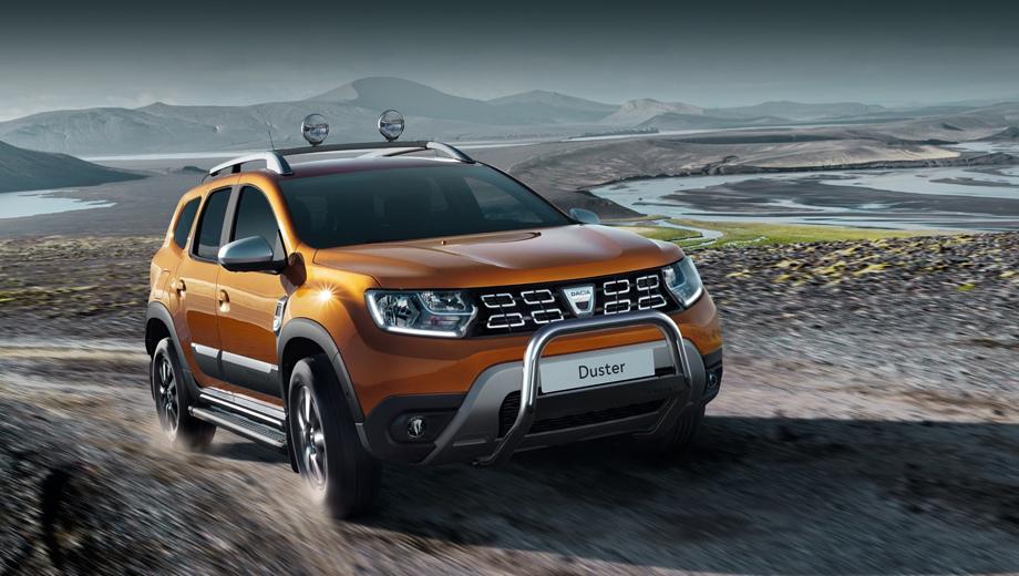 Паркетник Dacia Duster обзавёлся новым бензиновым двигателем