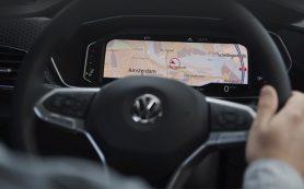 Интерьер модели Volkswagen T-Cross напомнил о «ти-роке»