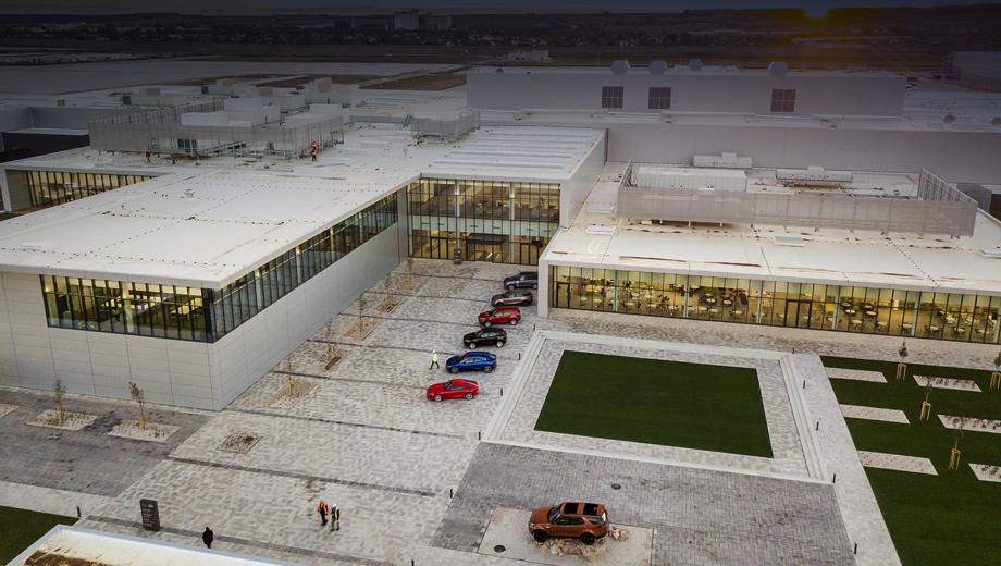 Завод концерна Jaguar Land Rover запущен в Словакии